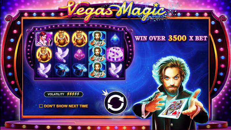 Vegas Magic Slot Game Will Dazzle and Amaze