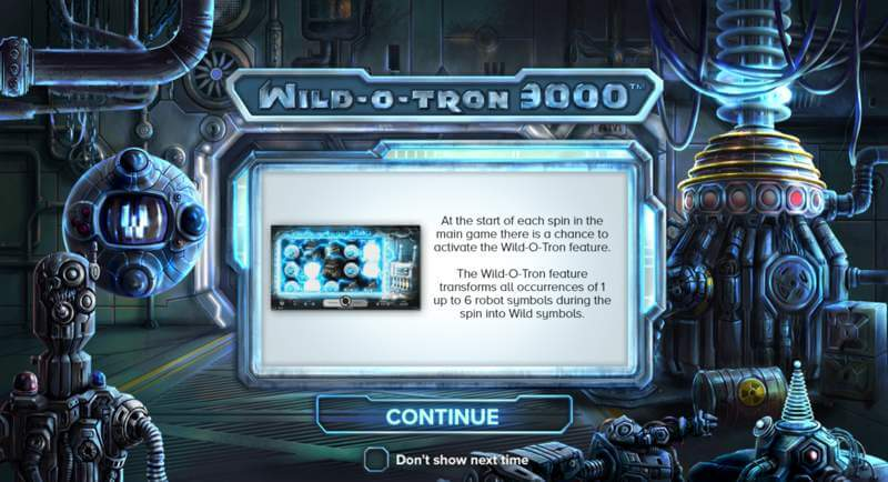 Wild-O-Tron 3000 Slot Game Release from NetEnt
