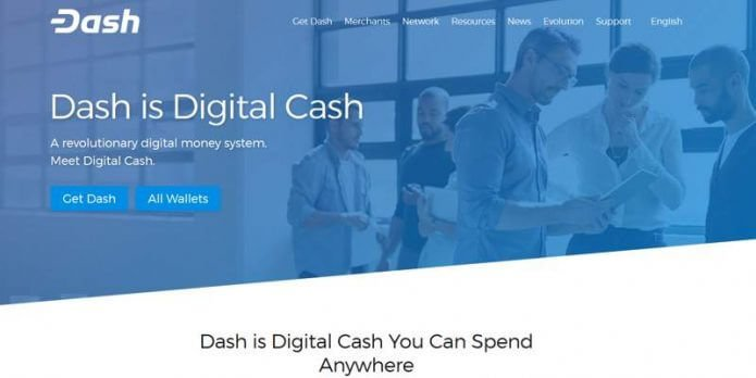 Dash Website