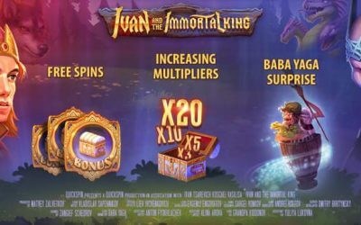 Ivan and the Immortal King Slot Game from QuickSpin