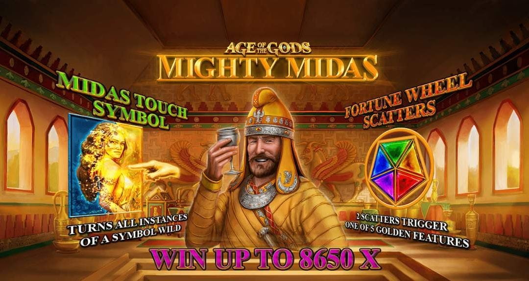 Age of the Gods: Mighty Midas – Another Golden Release in this Award Winning Series