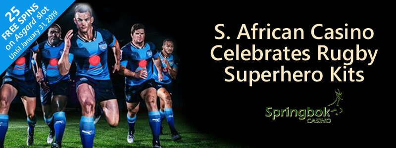 SA Online Casino Celebrates Super Rugby Teams' New Marvel Superhero Kits