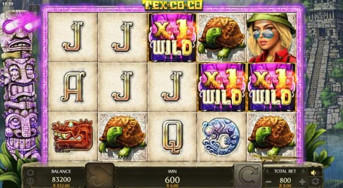 Tex Co Co Video Slot Game