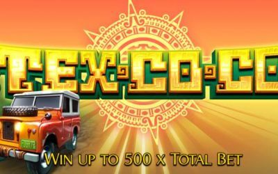 Tex Co Co is a New Aztec Themed Video Slot Game by Leander Games