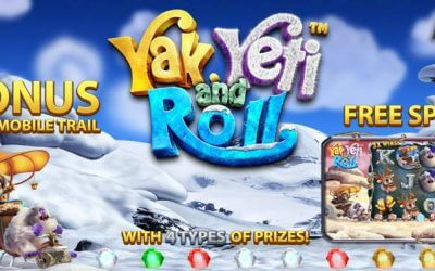 Yak, Yeti and Roll is a Fun New Slot Game from BetSoft