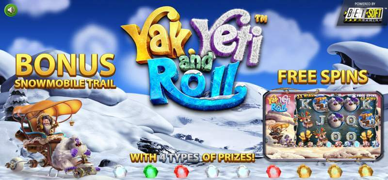 Yak Yeti Roll Slot Game