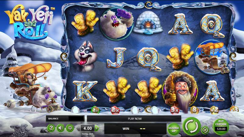 Yak Yeti Roll Video Slot Game