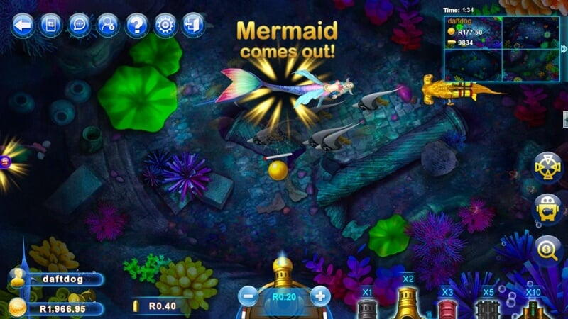 Fish Catch is a New Arcade Style Slot Game from Realtime Gaming