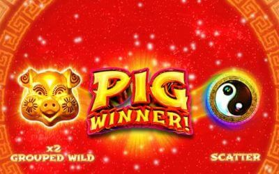 Pig Winner! is a New Slot Game from Realtime Gaming
