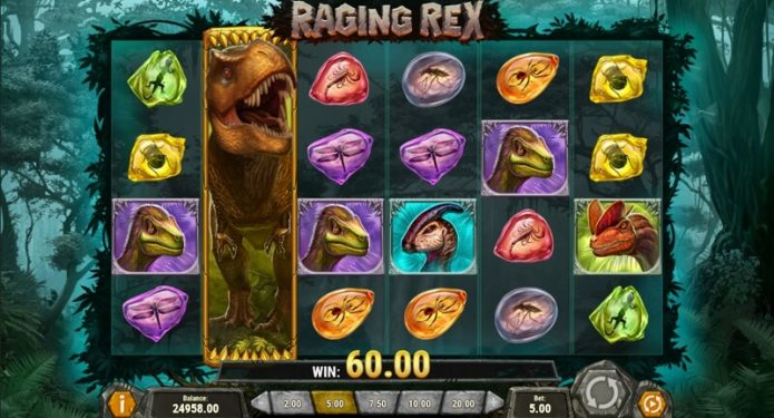 Raging Rex Slot Game Feature