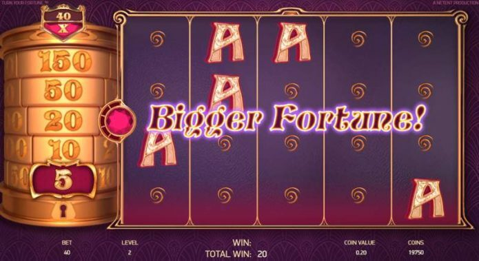 Turn Your Fortune Slot Feature