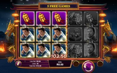 Wu Zetian is a Chinese Themed Slot Game that Features Giant Symbols