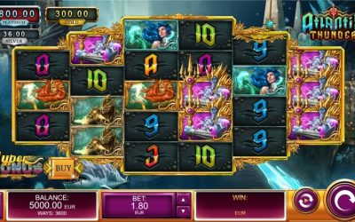 Atlantis Thunder is a Romanticised Utopian Slot Game from Oryx Gaming