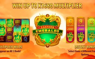 Eastern Emeralds is an Asian Themed Slot Game from QuickSpin
