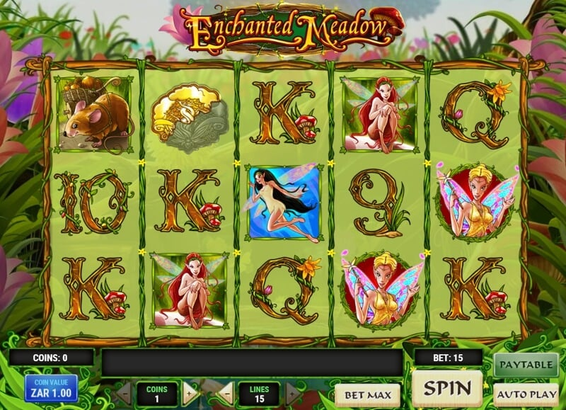 Enchanted Meadow Slot Game from Play'n Go