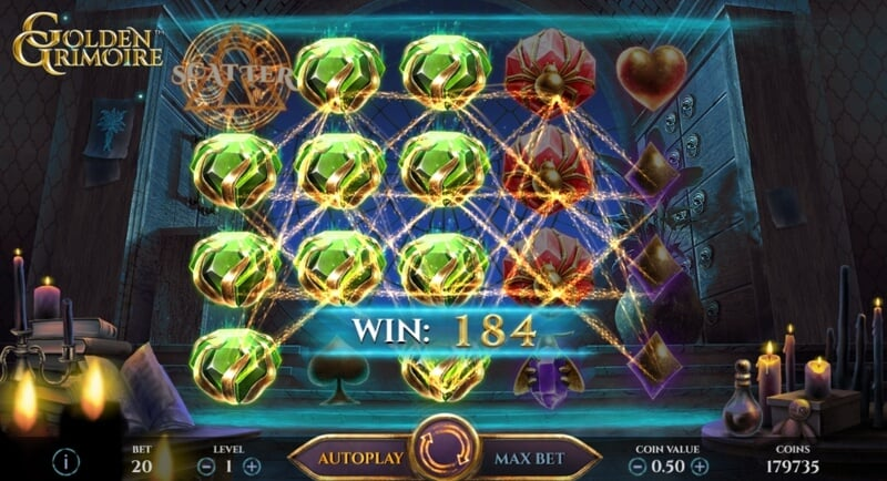 The Golden Grimoire Slot Game