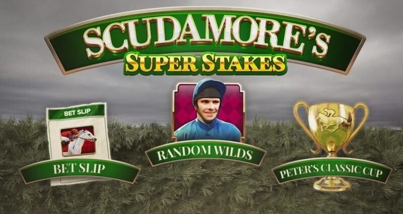Scudamore's Super Stakes Slot Game Just Released by NetEnt