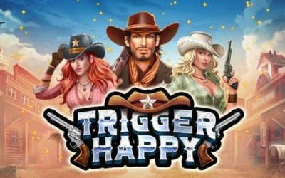 Trigger Happy is a Fun New Wild West Slot Game by RTG