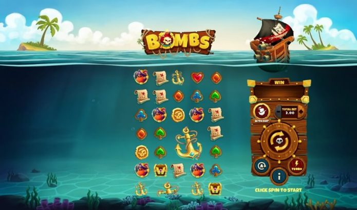 Bombs Video Slot Game