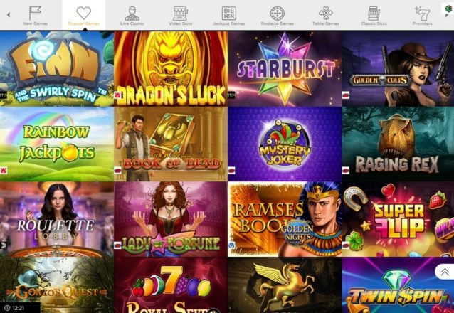 Casino Cruise Popular Games