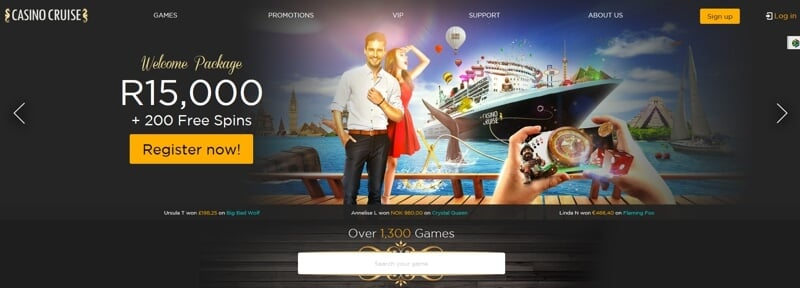 Casino Cruise Website