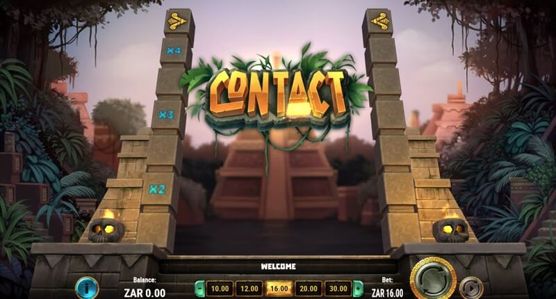 Contact is an Exciting New Myan Themed Slot Game from Play'nGo