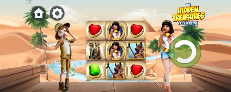 The Hidden Treasures of Cleopatra Slot Game