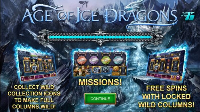 Age of Ice Dragons Slot