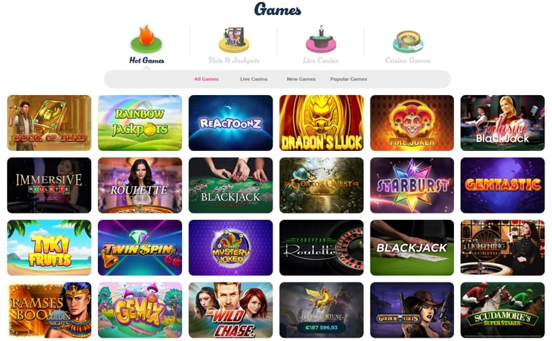 Casino Joy Slot Games