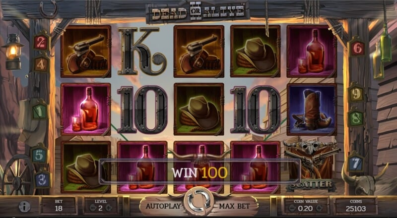 Dead or Alive 2™ Slot Win