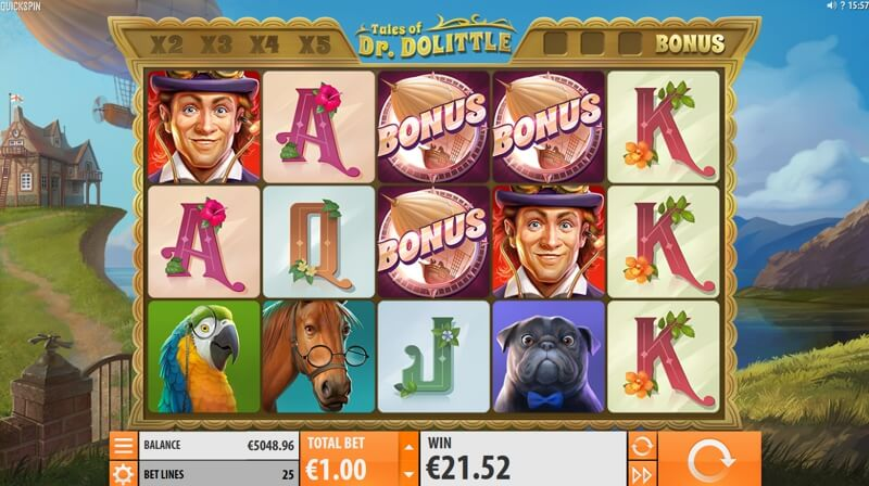 Tales of Dr. Dolittle Video Slot Game