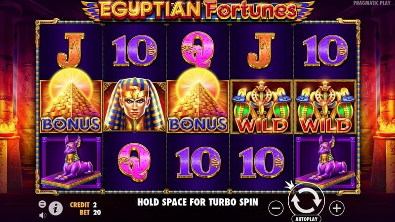 Egyptian Fortunes Video Slot