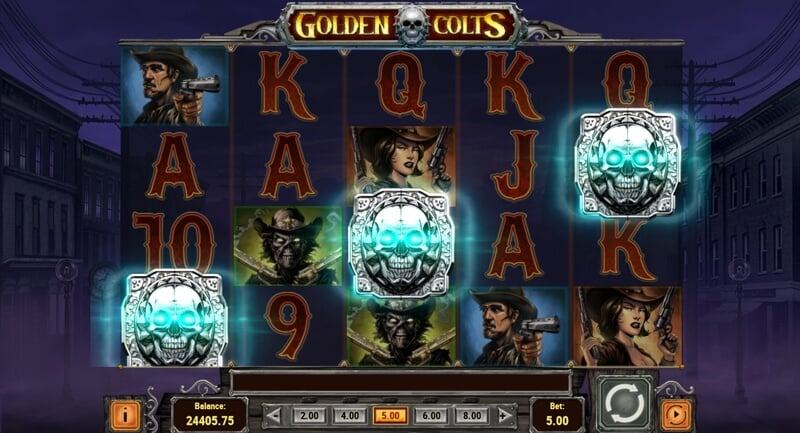 Golden Colt Video Slot Game