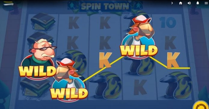Spin Town Video Slot Game