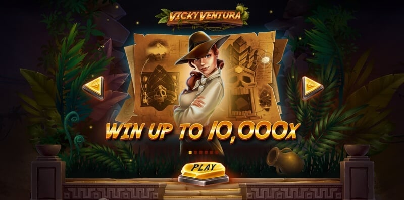 Vicky Ventura is an New Slot Game from Red Tiger