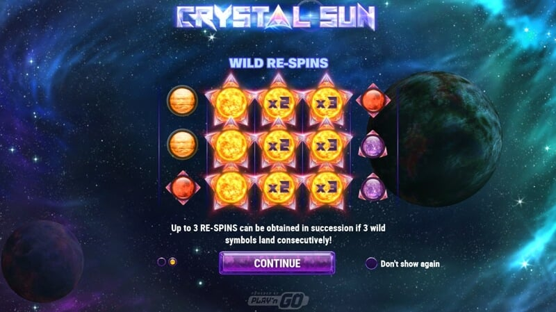 Crystal Sun Slot Game