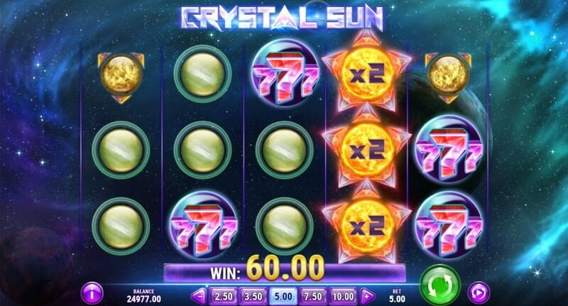 Crystal Sun Video Slot Game