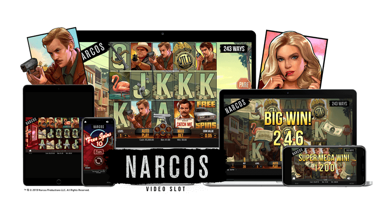 Narcos™ Video Slot Game
