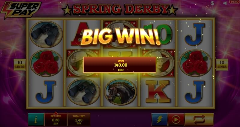Spring Derby Big Win