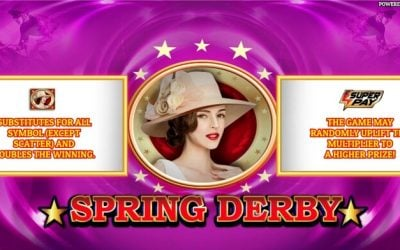 Spring Derby is a Galloping New Slot Game from Oryx Gaming
