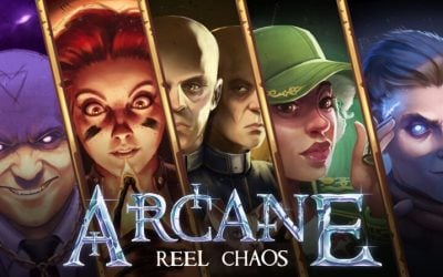 Step inside Arcane Reel Chaos™ and defeat the villain Deep Pockets