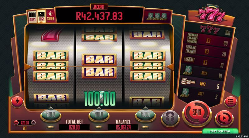777 Classic Styled Slot Game