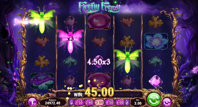 Firefly Frenzy Video Slot Game