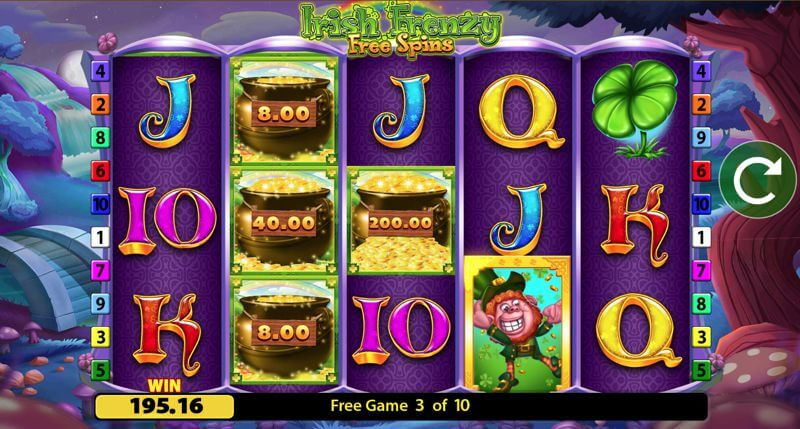 Irish Frenzy Free Spins
