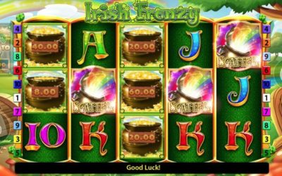 Irish Frenzy is a Simple New Slot Game from Blueprint Gaming