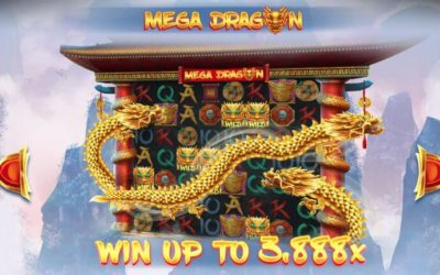 Mega Dragon is a New Slot Game from Red Tiger Gaming