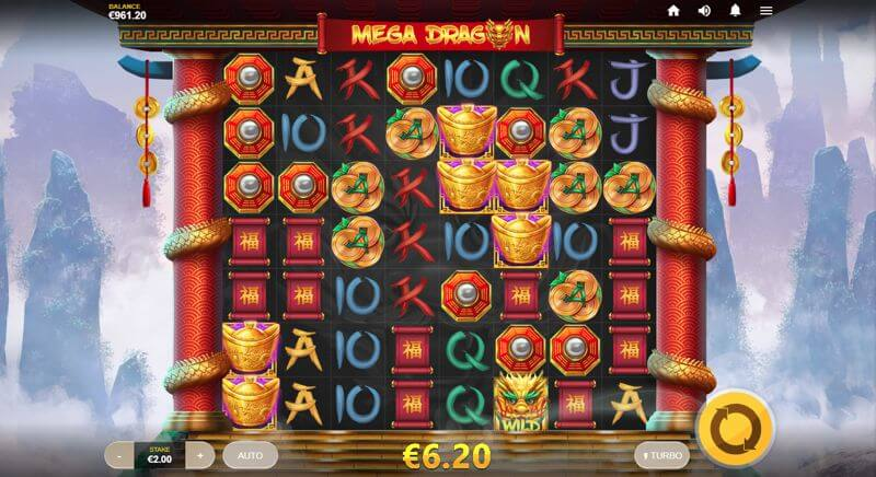 Mega Dragon Video Slot Game