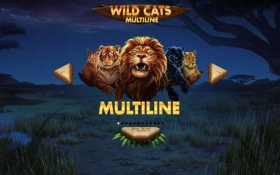 Wild Cats Multiline Slot Game from Red Tiger
