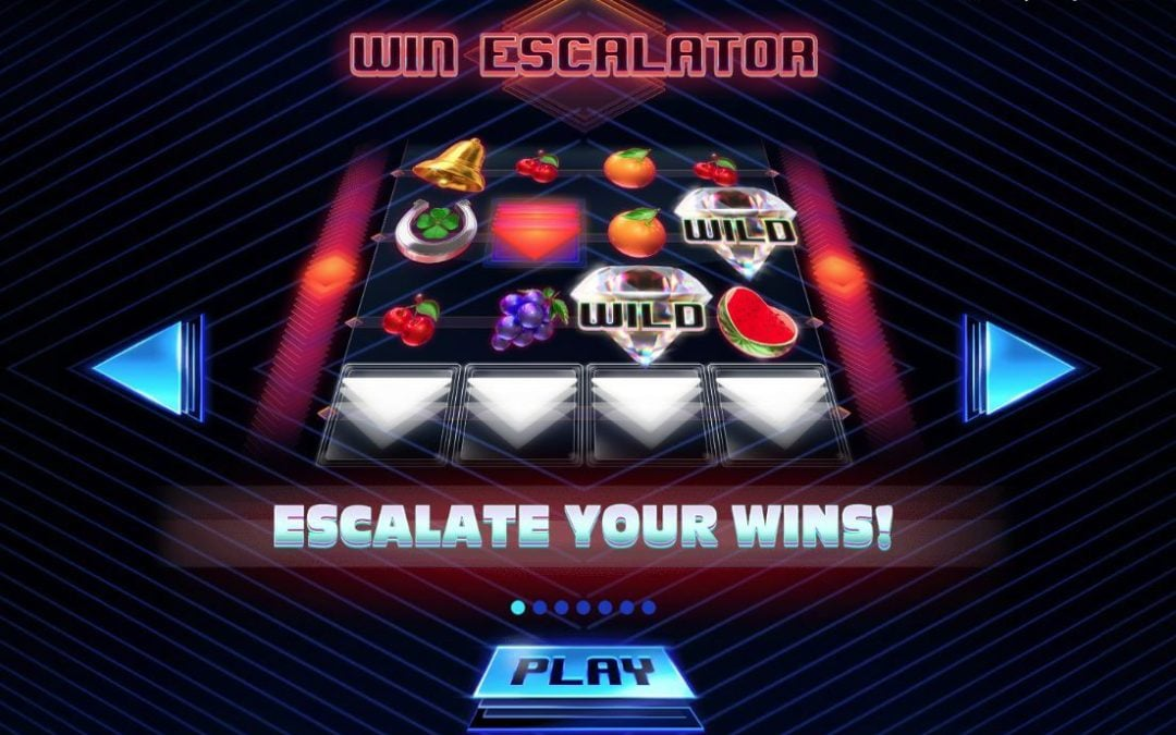 Win Escalator is a New Arcade Styled Slot Game with a Retro Feel