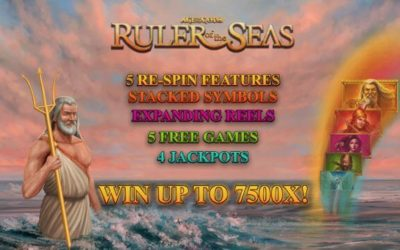 Age of the Gods Ruler of the Seas is a New Progressive Jackpot Slot